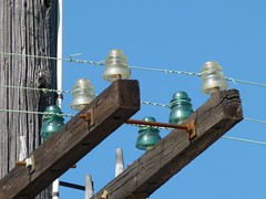 telegraph (Jef Poskanzer) Tags: glass wires telegraph insulators westernpacific mclaughlin42