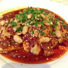 Chinese Spicy Mouth Watering Chicken @Baguobuyi Restaurnat, Shanghai (Phreddie) Tags: china food hot chicken square restaurant yum shanghai dish chinese delicious eat squareformat spicy sicuan baguobuyi iphoneography instagramapp uploaded:by=instagram foursquare:venue=4cf4d49cc9af6dcb8a0cae7f