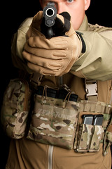 Grey Ghost Gear Assault Chest Rig - Modular with Pouches (ZERO7ONE-Photography) Tags: nylon ggg webgear tacticalgear greyghostgear