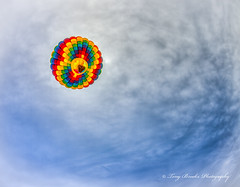 Up_up_and_away (yeahbouyee) Tags: sky colors clouds flying colorful balloon naturallight fisheye hdr flyingmachine airballoons photomatix canoneos7d thechallengefactory lightroom44