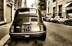 Fiat / Roma (mariannaF) Tags: travel italy streets rome roma car design italian europe mediterranean fiat culture motor