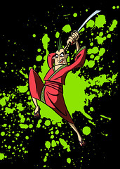 Samurai Jack Punk (themookscomic) Tags: art punk cartoonnetwork samuraijack drawsamuraijack