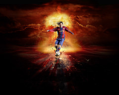 Lionel-Messi-Barcelona-Cool-Wallpaper (vinod_pednekar) Tags: