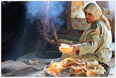 The Lady of Sumbal (Monsoon Lover) Tags: life india history bread flickr oven persia ashura kashmir migration hindu centralasia civilisation mesopotamia naan deva flatbread tandoor sudipguharay tannur
