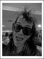Wild Evel (frode skjold) Tags: oslo norway norge bigdipper gutterball rockspesialreiser wildevel wildevelthetrashbones photoshopelements10 fujifilmx20 gutterball2013