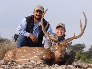 Texas Whitetail Hunt & Exotics - Kerrville 37