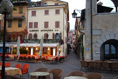 Very quiet this morning ? (Halliwell_Michael ## Thanks you for your visits #) Tags: morning italy garda lakeside towns lakegarda 2013 nikond40x gardatown