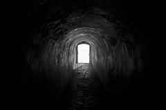 El Tnel B&W (CAUT) Tags: door light luz architecture arquitectura puerta nikon october colombia colonial tunnel bolvar octubre tunel cartagena muralla d90 caut 2013 cartagenadeindias ciudadamurallada nikond90