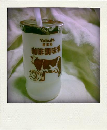 milkcoffee。養樂多咖啡牛奶