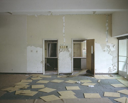 abandoned barrack