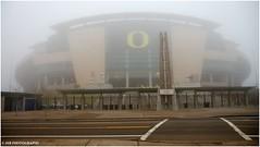Autzen Stadium (JSB PHOTOGRAPHS) Tags: fog football stadium ducks nikond50 universityoforegon eugeneoregon goducks autzen 18200mm dsc2582