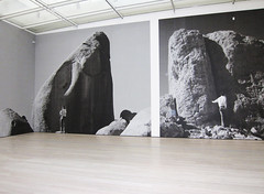 Museum, Levitated Mass by Michael Heizer at Los Angeles County Museum of Art, Large-Scale Prints