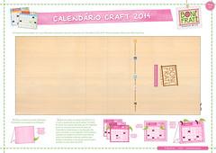 PAP • Calendário de Mesa - 2014 BoniFrati (base) (Ateliê Bonifrati) Tags: cute diy calendar craft tutorial pap calendário 2014 moldes passoapasso bonifrati craftcalendar calendáriocraft calendáriocraft2014 calendáriodemesaparaimprimir