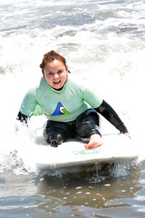 Surf Inclusivo (Teletn) Tags: beach surfing surfboard disabled amputee legamputee inclusivesurfing rightabovekneeamputee