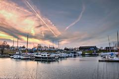 Harbour of Giesbeek 2 (It's Rik) Tags: holland boats harbor nikon harbour yacht ships nederland boten leisure hdr ijssel schepen plezier liemers giesbeek d3200 giesbeei