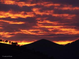 Ilunsentia. Sunset. Atardecer. Arangoititik. From Arangoiti. Desde Arangoiti. Bilbo. Bizkaia. Euskal Herria (Basque Country-Baskenland). 2014.01.26