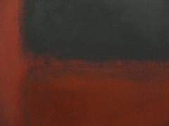 Mark Rothko (1903,Dvinsk - 1970,New York), Untitled [Black, Red over Black on Red], det-1964 (michelle@c) Tags: red black painting rouge noir centre arts muse moderne peinture national abstraction pompidou dart 1964 colorfield markrothko vibration abstrait plastiques expressionnisme chromatique blackredoverblackonred michellecourteau