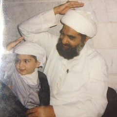 Sheikh with his nephew in Qum
