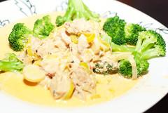 Chicken Curry (Xerethra) Tags: winter food chicken dinner 35mm vinter nikon sb600 mat february middag februari 2014 nikon35mm kyckling speedlightsb600 d80 nikond80 lchf