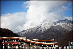 (Kate_Lokteva) Tags: mountain mountains olympics olympicgames sochi olympiad wintergames  winterolympicgames sotchi krasnayapolyana  sochi2014 2014   rozakhutor