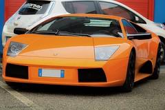 Lamborghini Murcielago (xX Il Rizzo Xx) Tags: pictures road cars car drive photo closed ride photos pics picture pic driver lamborghini supercar matte sportscar autodromo murcielago franciacorta