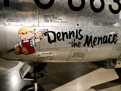 _DSC1513 (Smschelb) Tags: museum us force air north sabre national american usaf dennisthemenace f86d