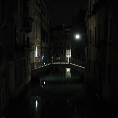 Venice by Night (bjorbrei) Tags: bridge venice night canal venise venecia venezia venedig