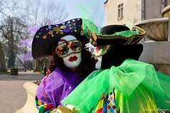 Carnaval venitien d'Aix-les-Bains (jomnager) Tags: costume nikon passion carnaval savoie f28 afs masque 1755 aixlesbains rhonealpes d300s venitien