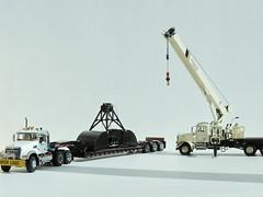 DSCN6397 (Heavy machine) Tags: truck first gear 150 american granite mack