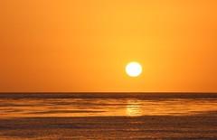 carpinteria sunset gold (Karol Franks) Tags: ocean sea shore sun sunset gold orange reflection water sky nov santabarbara karolfranks copyright beach goldenhour karolfranksgmailcom ©2014 ©karolfranks okarolyahoocom