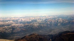 Dolomites, Northern Italy (erintheredmc) Tags: from november winter italy holiday snow mountains alps window airplane break fuji escape erin seat finepix marco british airways northern polo dolomites gatwick mccormack aerials 2011 f550exr