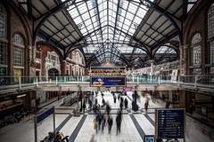 traveling with shadows 2 (stocks photography.) Tags: london station railway stocks liverpoolstreetstation britishrail stocksphotography michaelmarsh travelingwithshadows