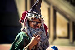 Wizardry (ohgoodgracious) Tags: nyc newyorkcity portrait ny newyork silly canon fun costume cosplay wizard centralpark manhattan streetphotography streetperformer bethesdafountain iloveny bethesdaterrace wizardry teamcanon