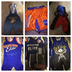 Singlets and shorts! Will take trades and cash! Text me 4845712776 #wrestling #singlet #shorts #trade #sell (brentwindle) Tags: wrestling shorts sell trade singlet