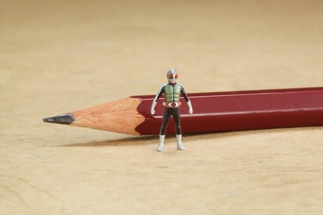玩具史上最微小!1.5cm 假面騎士「MICRO」登場!