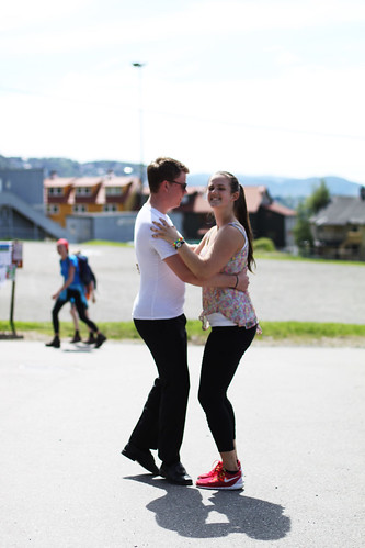 Dans på sjufjellsturen 2014