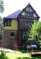 (:Linda:) Tags: germany town thuringia gable halftimbered fachwerk meiningen historicism zwerchhaus