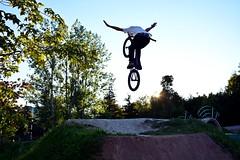 BMX Tuck No Hander (Braden Bygrave) Tags: light sun hands nikon bmx no dirt jumps nohands dirtjumps nikonphotography d7100 nikond7100 18140mm