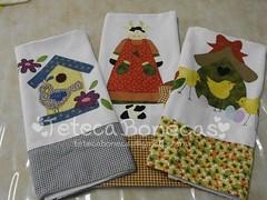 Panos de prato nova coleção (Teteca Bonecas) Tags: cozinha panosdeprato panodecopa