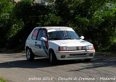 074-DSC_6419 - Peugeot 205 Rallye - N1 - Formolli Giordano-Duico debora - Promo Sport Racing ASD (pietroz) Tags: photo nikon foto photos rally fotos di pietro circuito cremona zoccola pietroz d300s