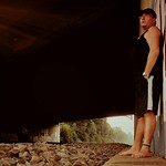 Waiting for something  #dark #black #stone #man #one #person #barefoot #skin #profile thumbnail