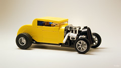 The Chicken Coupe (_Tiler) Tags: lego car vehicle hotrod ratrod ford coupe fordcoupe 1934fordcoupe