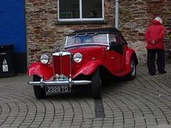 1953 MG TD (Phil Gayton) Tags: 1953 mg td market square totnes devon uk