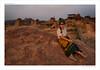 Hampi sunset (flovision.net) Tags: asia d800 hampi india karnataka nikon nikond800 unescoworldheritagesite wwwflovisionnet woman beautiful sunset dusk vijayanagara empire art architecture historic history vijayanagaraempire