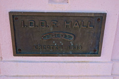 Odd Fellows Hall, Taft, CA (Robby Virus) Tags: taft california ca ioof odd fellows lodge hall sign signage fraternal organiation temple
