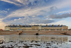 2017_02_24_0096_7_8_fused (EJ Bergin) Tags: beach seaside worthing westsussex sunset seafront sand lowtide heeneterrace hdr exposurefusion