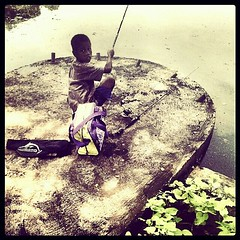 fisher kid (M41NA) Tags: indonesia photo sephia flickrandroidapp:filter=none