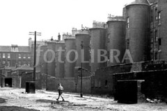 FOT693132 (Peter Guidi) Tags: street old city houses boy urban white black tower architecture scotland stair moody child place glasgow scene rubbish decrepit residential atmospheric slum dilapidated 1961 abbotsford tenements squalor gorbals deprivation squalid nineteensixties