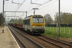 HLE 1304 door Serskamp (TrainzDr3ver) Tags: station train belgium belgique gare belgi zug goods alstom trein belgien nmbs sncb brusselgent goederentrein marchandises serskamp hle13 spoorlijn50