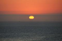 Cali Sunsets (Crystal_rivera) Tags: ocean sunset sun beach horizon